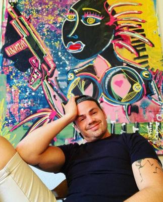 Kunst online kaufen günstig und nachhaltig Leon Ferren