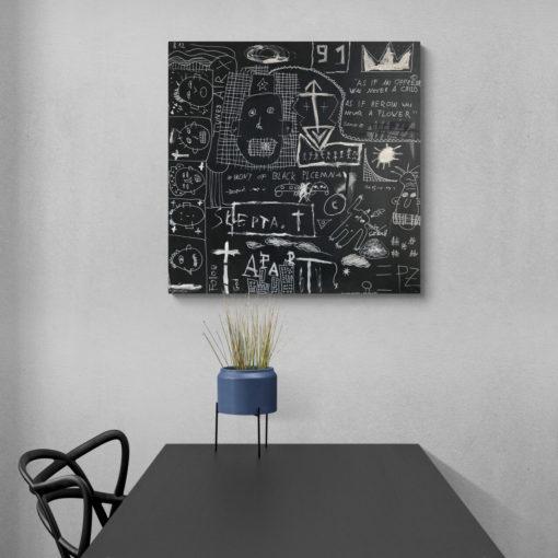 Das Kunstwerk Josie von Tim Grieshaber Kunst online kaufen Detailaufnahme