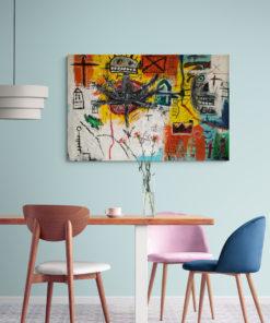 Das Kunstwerk Magarethe von Tim Grieshaber Kunst online kaufen Detailaufnahme