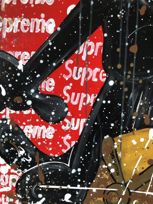 Kunst online kaufen Detailaufnahme des Kunstwerkes Felix Supreme